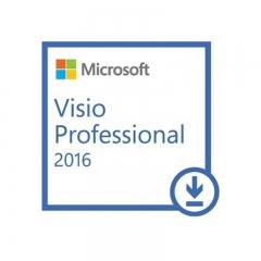 Visio 专业版 2016 电子下载版 永久授权 标准版 Windows