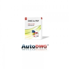 AutoDWG DWG to PDF Converter 兼容XP/Vista/Win7以上版本 授