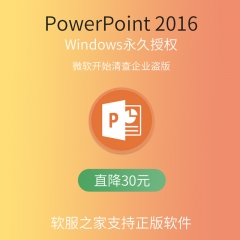 PowerPoint 2016 电子下载版 永久授权 电子下载版 Windows
