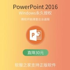 PowerPoint 2016 电子下载版 永久授权 电子下载版 Windows windows 永